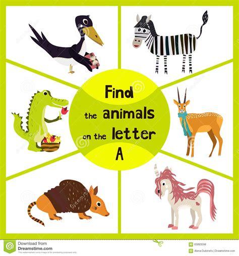 3 letter animals learning maze find all 3 animals with the 20059   funny learning maze game find all cute animals letter alligator antelope armadillo vector illustration 65893598