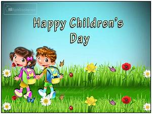 Children's Day Special Greetings (T-605) (ID=1817 ...