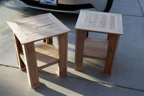 pallet  tables  fridgecritter  lumberjockscom