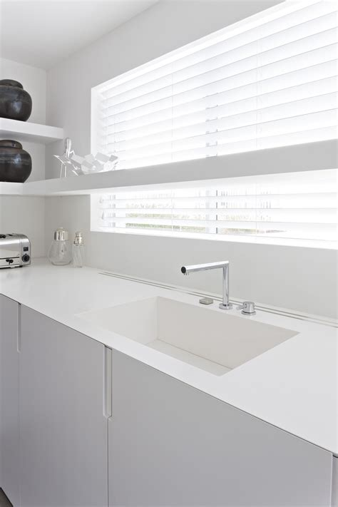 kitchen faucet design integrated corian sink by liedssen architecture 1613