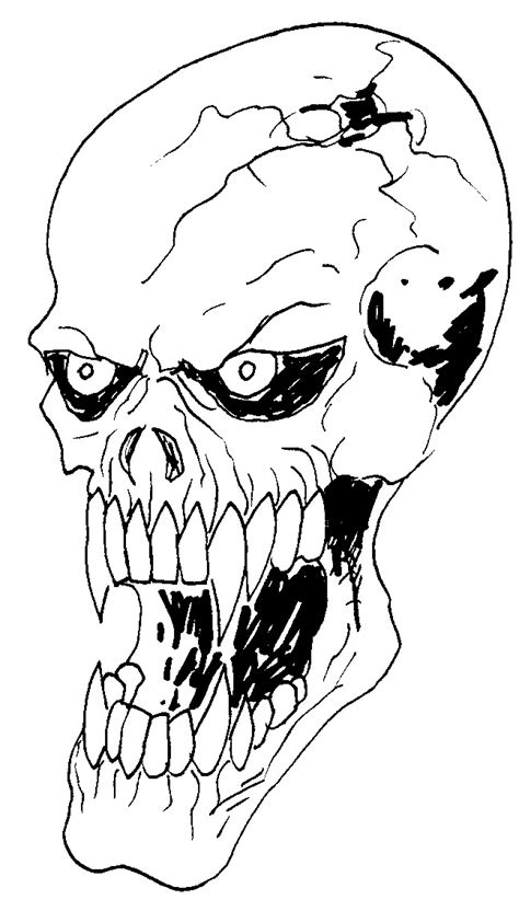 Free Cool Skull Drawing, Download Free Clip Art, Free Clip