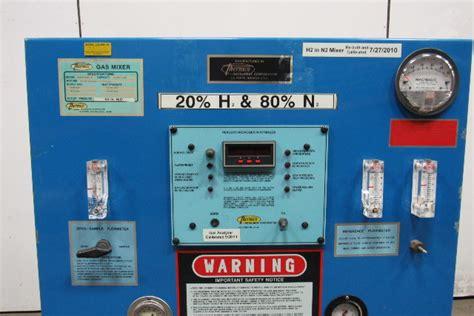 thermco model hnan hydrogen nitrogen flammable