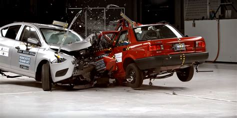 siege auto crash test car to car crash test forces nissan to stop production of
