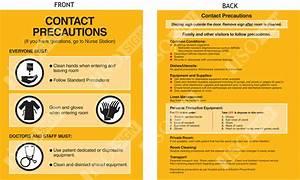 Contact Precautions Sign Printable Related Keywords ...