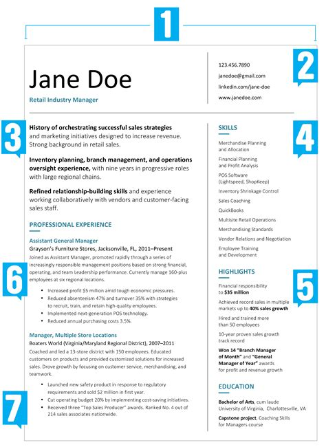 doc 638826 what a professional resume should look like