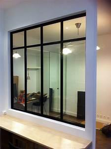 Verriere Interieure Metallique : verri re d 39 int rieur atelier d 39 artiste type loft 7 trav es ~ Premium-room.com Idées de Décoration