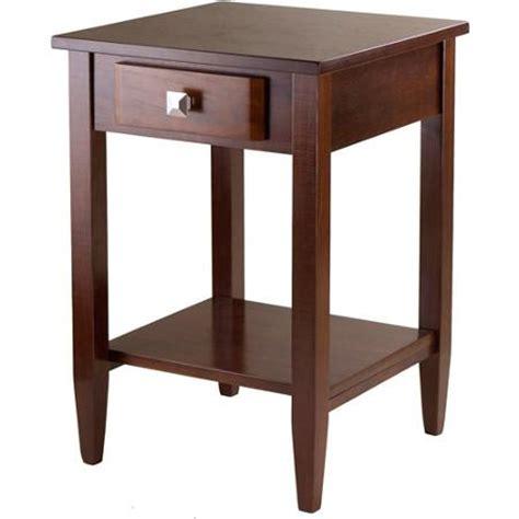 walmart living room end tables richmond end table antique walnut walmart com