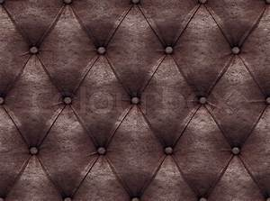 Seamless brown leather texture Stock Photo Colourbox