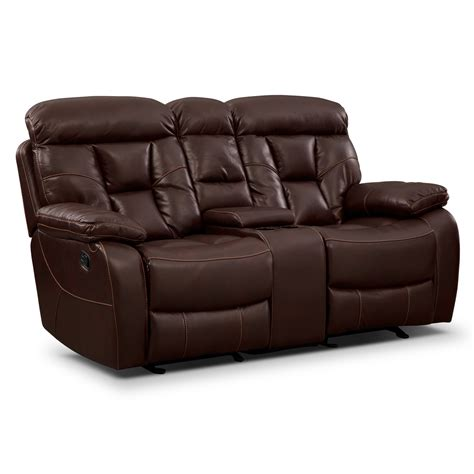 Reclining Loveseat by Loveseats Living Room Seating Value City Furniture