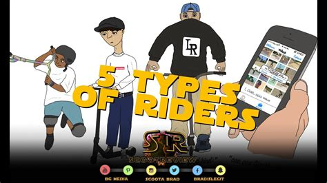 Top Five Types Of Scooter Kids