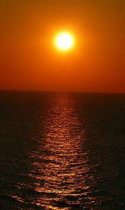 sunset, Sea, Horizon, Portrait display Wallpapers HD ...