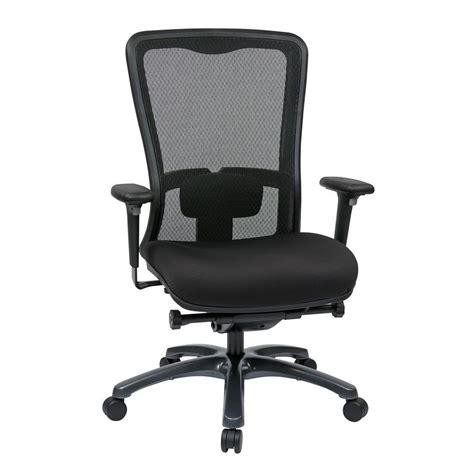 pro line ii coal freeflex high back office chair 97720 30
