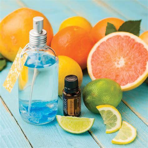 diy citrus air freshener doterra essential oils
