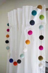 200 Multi Color Garland Lights Pom Pom Garlands All Year Long 12 Fun Diy Yarn Projects