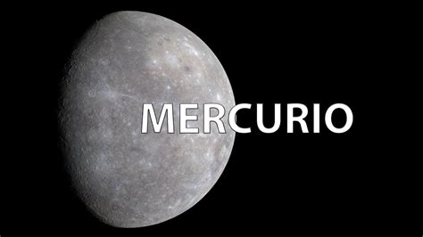 el sistema solar i mercurio youtube