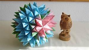 Origami Stern 5 Zacken : origami goliath stern origami 3d star youtube ~ Watch28wear.com Haus und Dekorationen