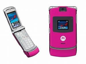 New Pink Motorola RAZR V3 Flip Phone Unlocked GSM Phone | eBay