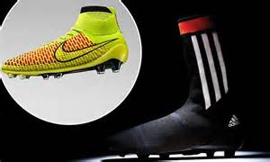 Knitted football boots? Adidas and Nike unveil new all-in ...