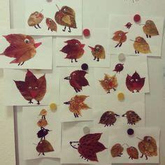Herbstlaub Basteln Blaetter Deko Aus Papier by Basteln Mit Kindern Basteln F 252 R Kinder Kita Krippe