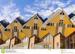 cube architektur würfelhaus rotterdam stockbild bild 37087511