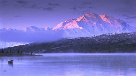 alaska landscape mountains  resolution