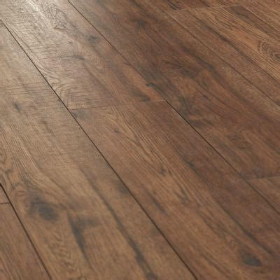 home decorators collection distressed brown hickory 12 mm x 6 26 in x 50 78 in laminate