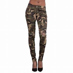 Pencil Pants Women 2017 Fashion Camouflage Dog Embroidery ...