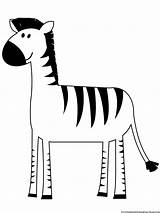 Zebra Coloring Pages Printable Boys Comments Paint Related sketch template