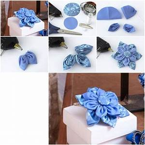 How To Make Beautiful Cloth Flower step by step DIY ...