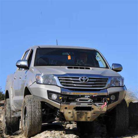 rhino  evolution bumper suitable  toyota hilux