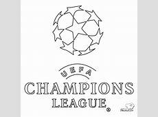 Logo Uefa Champions League Dibujalia Dibujos para