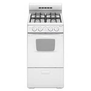 kitchen faucets discount amana 20 in 2 6 cu ft gas range in white agg222vdw
