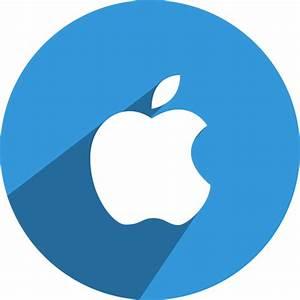 Apple, media, network, social icon   Icon search engine