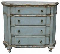 Hand Painted Distressed Pastel Blue Finish Accent Chest Contemporary Antique Bed Painted With French Blue And Creamy Linen Farmhouse Paint Hand Painted Glass Display Sideboard Buffet Shabby Chic Curio Bedroom On Pinterest Solid Pine Bedroom Furniture And Pine