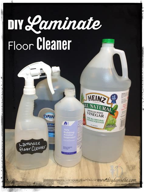 Diy Laminate Floor Spraycleaner  Diy Danielle