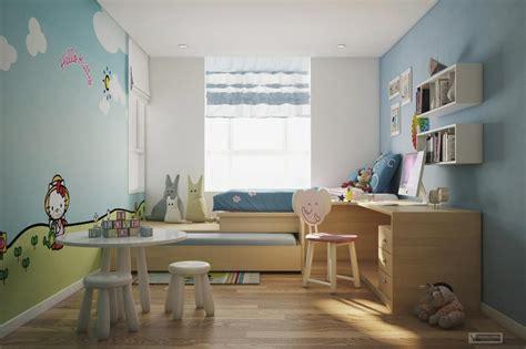 Kids Bedroom Study Room Interior Design Ideas  Dma Homes