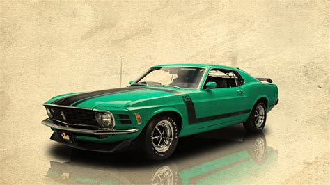 1970 Ford Mustang Boss 302 By Bedobaho On Deviantart