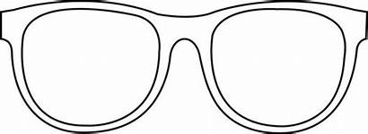 Coloring Pages Eyeglasses Glasses Retro Designlooter 219px