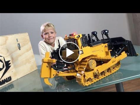 rc bulldozer bruder cat   grumalu review  jack outdoor test