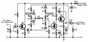 30w mosfet audio amplifier circuit diagram world With this is the schematic diagram of quotspunky39squot preamplifier circuitry
