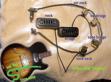 Harmony Standard Wiring For Pickups Guitars
