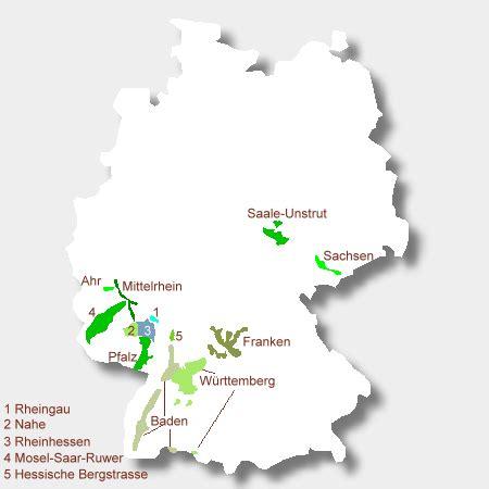 weinbaugebiete deutschland karte  blog