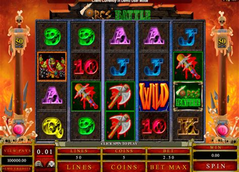 siege casino orc 39 s battle slot play best microgaming slots for free