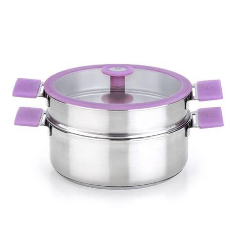 batterie de cuisine cristel panier cuit vapeur en inox diamètre 24cm quot modèle versailles quot
