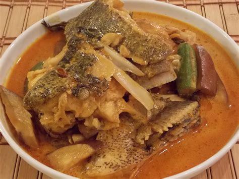 grouper curry fish plant head finger ladies egg dish