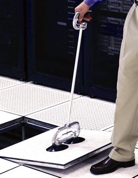 premier line of standup raised floor tile pullers