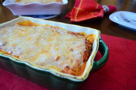 Toaster Oven Lasagna - lasagna for two mini lasagna baked in a loaf pan