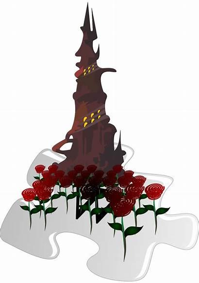 Svg Tower Dark Series Darktower Gunslinger Template
