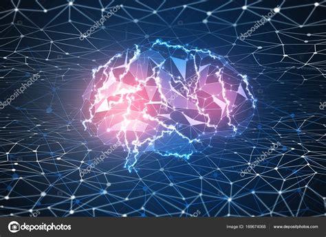 Digital Brain Wallpaper by Digital Brain Wallpaper Stock Photo 169 Peshkova 169674068