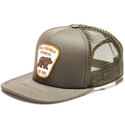 coal the bureau hat olive